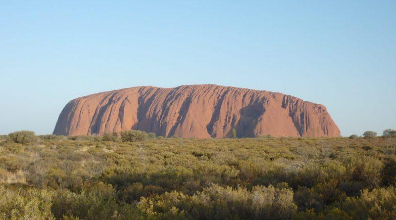"""Ayers Rock (""""Uluru"""")"""