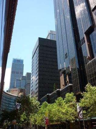 Central Business District in Sydney