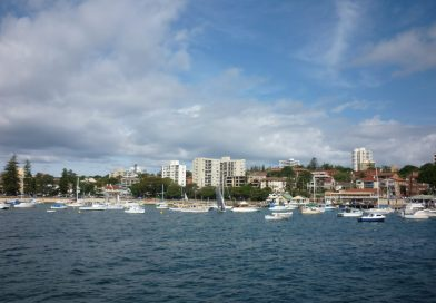 Fahrt im Hafen von Sydney