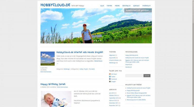 HobbyCloud.de im Juni 2013