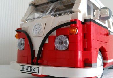 Macht Lust auf Urlaub: Der LEGO® VW T1 Campingbus